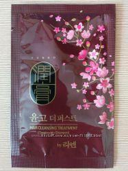 Интенсивный лечебный шампунь  2в1 ReEn Yungo The first cleansing treatment