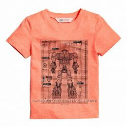 Фирменные футболки на мальчика, новые поступления