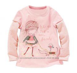 Модные фирменные регланы для девочек
