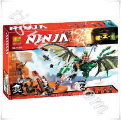 арт. 10526 Конструктор Ninjago Bela Зелёный Дракон