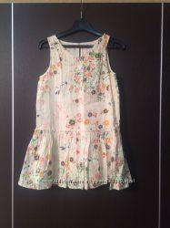 летнее платье - сарафан ZARA на  5-7 лет
