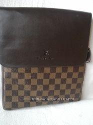 Louis Vuitton мужская сумка планшет Луи Виттон