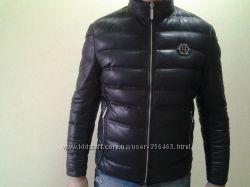 Philipp Plein  мужская стильная зимняя куртка пуховик