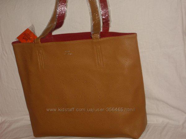 3 цвета! кожаная сумка Hermes! копия Стильная сумка