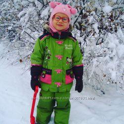 Наш зимний термо комбинезон Snow Dragons 3-4 года