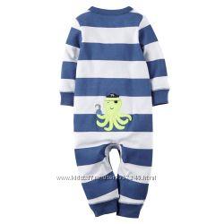 Пижамки человечки Carters  на 9 месяцев