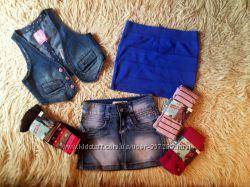 Модный гардеробчик для девочек 7-9 лет