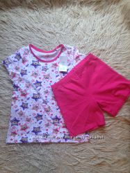 Пижама летняя Pepperts 122-128 см, Германия