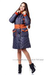 Женское зимнее стеганное пальто. Качество отличное.