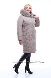 Женское зимнее пальто. Новинки. Большие размеры
