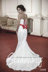 Чудесное свадебное платье 46 р Slanovskiy-как в телепроекте 4 весілля