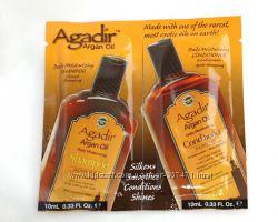 Шампунь и кондиционер с аргановым маслом увлажняющие проф. Agadir Agran Oil