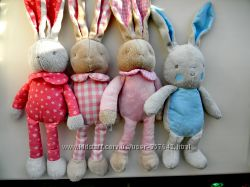 Французские игрушки кролик зайчик Klorane Bebe