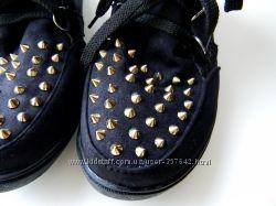 ботинки высокие кеды с шипами 39р.