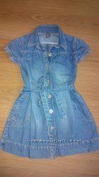Платье  ZARA  4-5  лет.