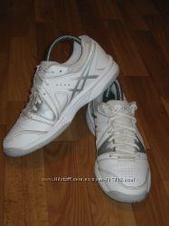Белые кожаные кроссовки Asics Gel-Gamepoint Япония, размер 36 23 см