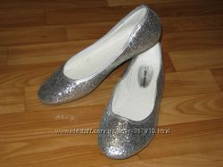 Новые блестящие балетки Odgi-Trends Англия, размер 41 26, 5 см