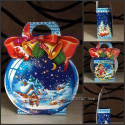 Упаковка новогодних сувениров