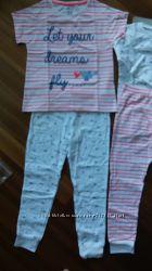Пижамы на девочку F&F  5-9 лет