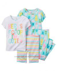 Пижамы на девочку 4-5лет. Картерс
