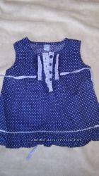 туника-рубашечка в идеальном состоянии 80-86