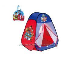 Палатки для мальчиков Spidermen, Тачки, Летачки, Batman, Супергерои