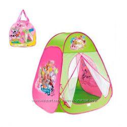 Палатки для девочек Winx, Dora, Белоснежка, Принцессы, Hello kitty