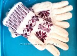 Перчатки шерсть
