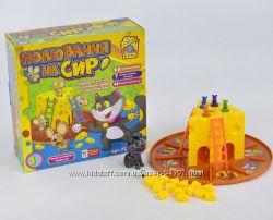 игра настольная Мышиная охота Fun Game погоня за сыром