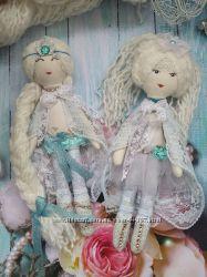 текстильная кукла Принцесса Эльза Фроузен