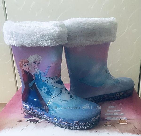 Резиновые сапоги Frozen р.12UK 20см