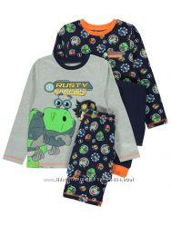 Трикотажная пижама, хлопок, Англия, от 2-ух до 13 лет