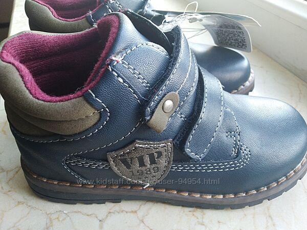 Новые демисезонные осенние ботинки Германия TOPOMINI