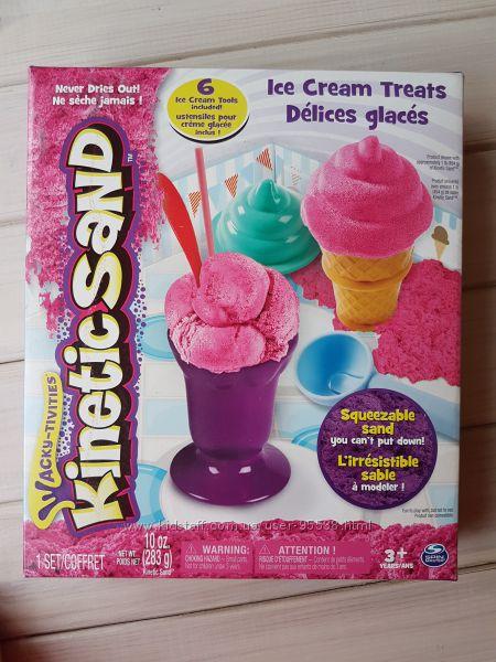 Kinetic Sand Ice Cream , игровой набор Мороженое, Кинетической песок, розов