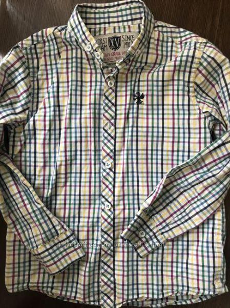 Рубашки для мальчика 110-116см
