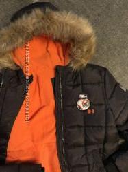 Тёплая куртка C&A для мальчика
