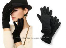 Теплые бархатные перчатки с флисом Германия
