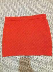 Недорого красная юбка