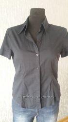 блуза рубашка черная ESPRIT