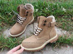 Демисезонные ботинки Cott Division Турция  Натуральный нубук