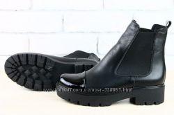 Стильные ботинки Кожа и Замша