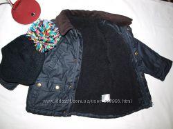 Куртка на 2-3 года на холодную осень еврозима на меху, состояние отличное