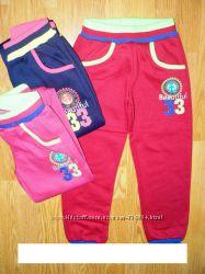 СП  Спортивные утепленные штаны для девочки Венгрия  р. 116 - 146см.