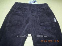 Вельветові теплі штани на хлопчика 3-4 рочки