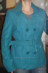 пальто бирюзовое Orsay