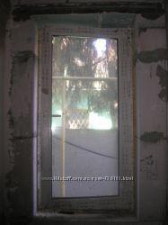 Окно с новостроя открывающиеся, двухкамерное, 147 см на 75, 5 см