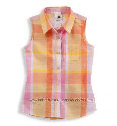 Легкая блузка-рубашка C&A Palomino - Германия -  р. 110