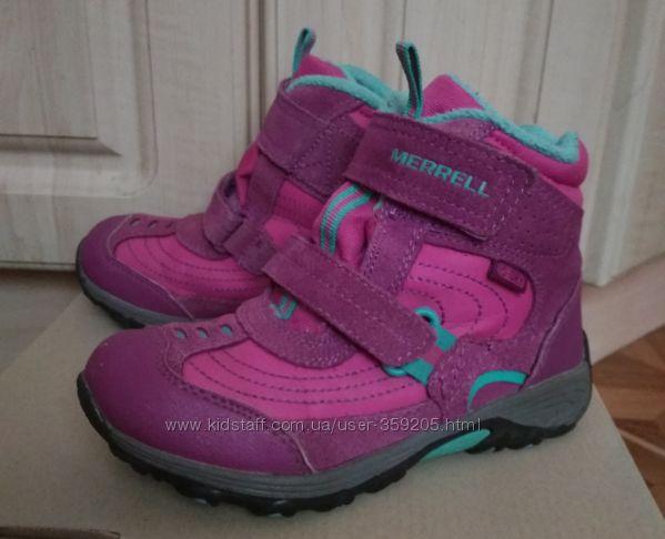 Мембранные термо ботинки Merrel р. 31 стелька 19. 5 см