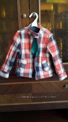 стильная летняя куртка ветровка разм. 110