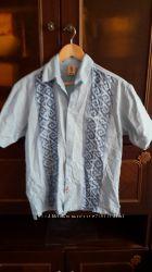 мужская рубашка с коротким рукавом разм. S из Мексики